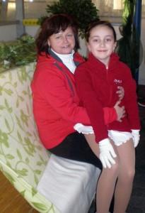 Dorotka Marková s trénerku Renátou Chebeňovou