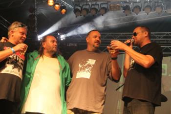 Rasťo Škrinár (na fotke druhý sprava) si zakladá vlastný festival. Ilustračné foto: I. Golembiovský
