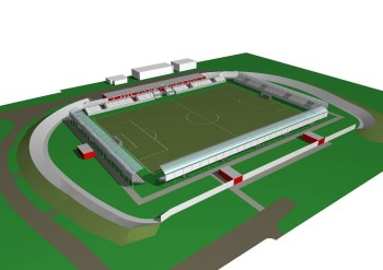 projekt futbalovy stadion zvolen