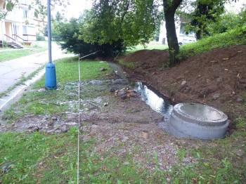 kanalizacia oprava