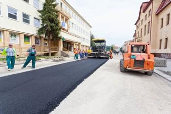 rekonstrukcia ulice L. Stura