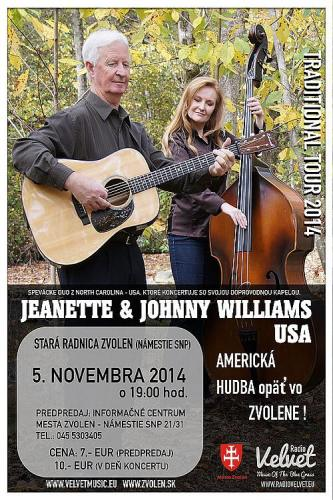 koncert Jeanette & Johnny Williams