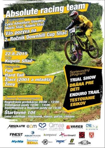 downhill cup sliac 2015