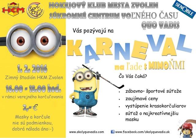 Karneval na lade-Mimoni 2016