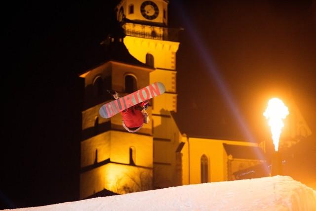 Big air v meste Kremnica, foto organizatori: Dominik Roth 2016 | BBonline.sk, ZVonline.sk