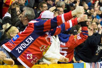 HKM Zvolen - HK Nitra, semifinale hokej 2016 | BBonline.sk, ZVonline.sk