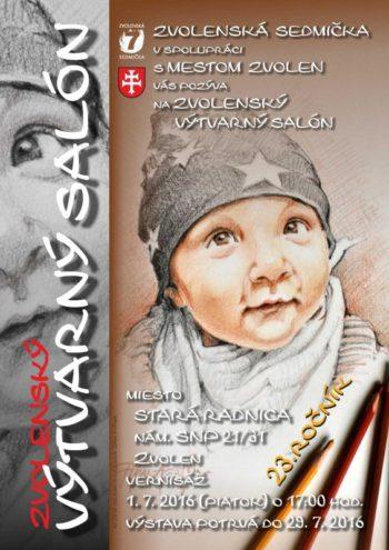 Zvolenskky vytvarny salon vystava umelcov Zvolenskej sedmicky Stara radnica jul 2016