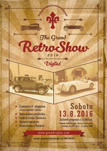 The Grand Retro Show Viglas historicke vozidla 13.08.2016