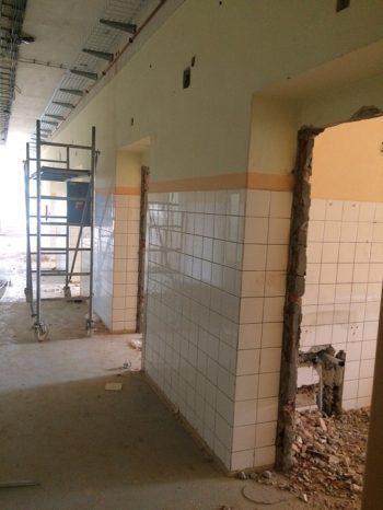 Foto 1 - začiatok renovácie