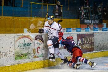 Hokej - Tipsort liga - HKM Zvolen vs. HC Kosice - 22.01.2017 - Zvolen